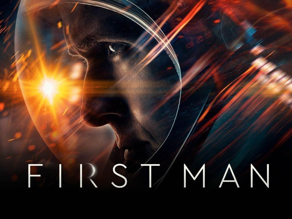SS: First Man (12A) cover image