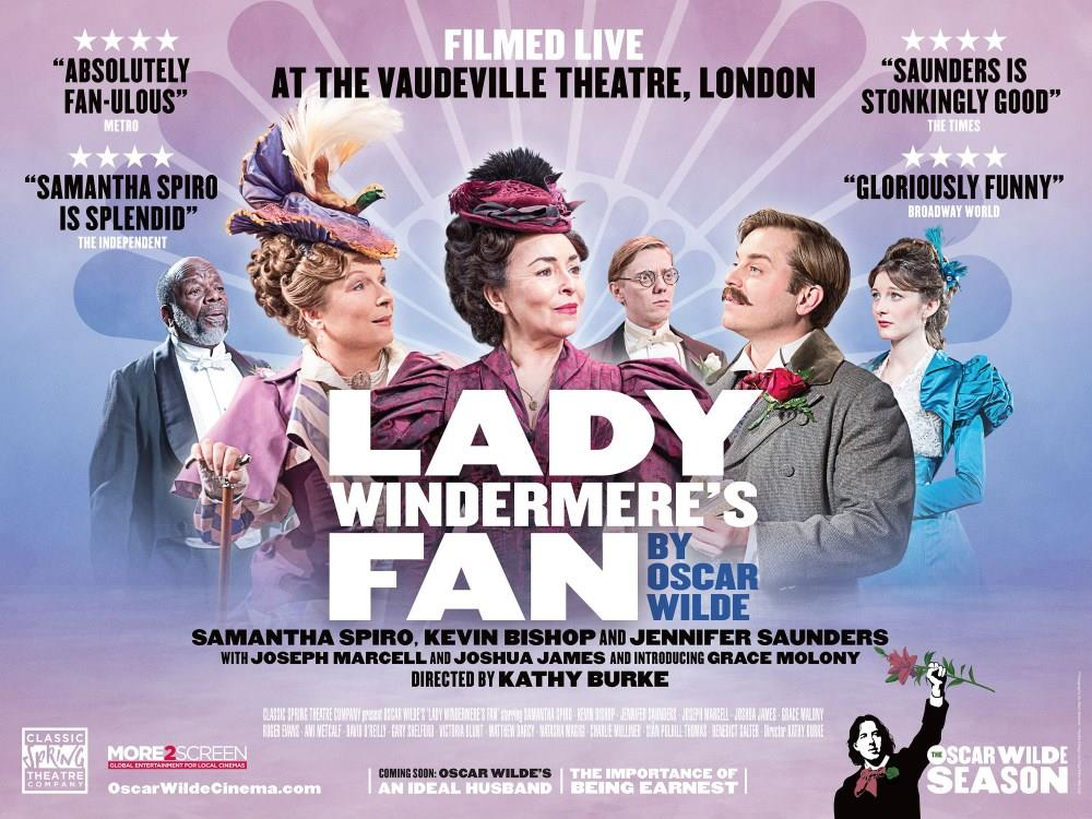 Main image for Oscar Wilde: Lady Windermere's Fan (PG)