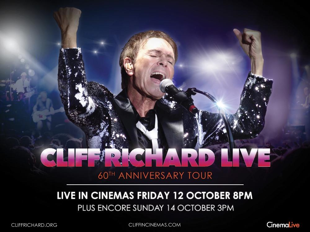 Main image for Cliff Richard Live: 60th Anniversary Tour (U)