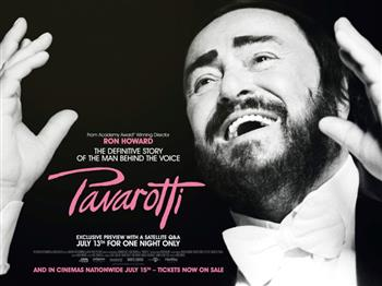 Featured image for Pavarotti + Satellite Q&A (12A)