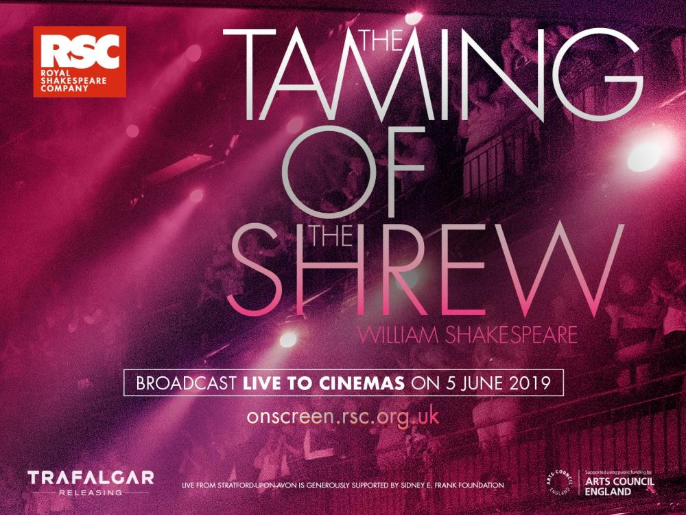 Main image for RSC: The Taming of the Shrew (12A)